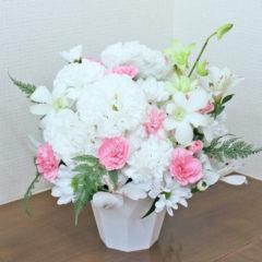 お供えアレンジメント「花てまり」