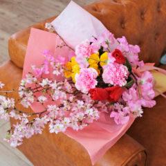 花束「桜のたより」