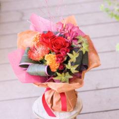 花束「秋のおくだけブーケ」