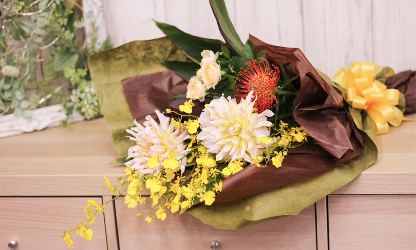 花束「ブーケジョーヌ」